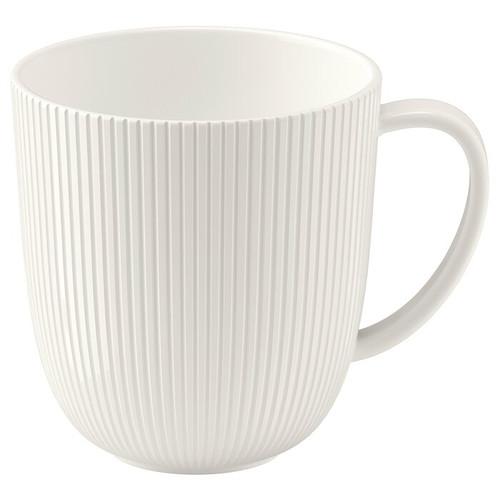 IKEA OFANTLIGT Mug, white, 31 cl
