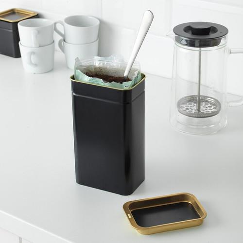 IKEA BLOMNING Coffee/tea tin, 11x7x20 cm