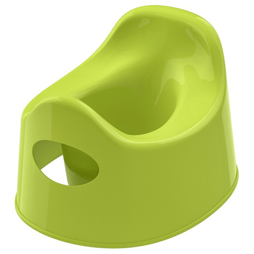 IKEA LILLA Children's potty, green