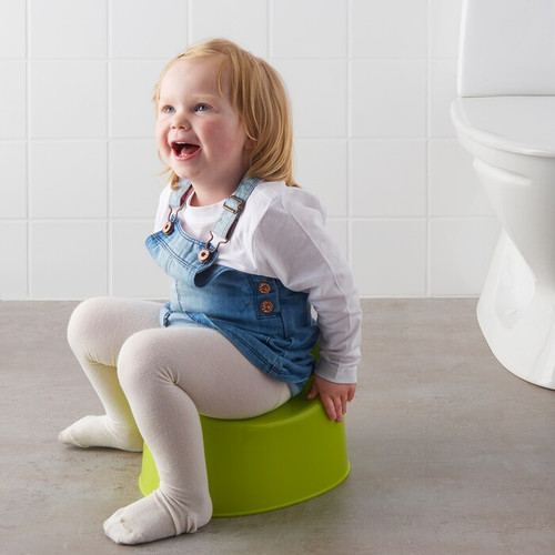 IKEA LILLA Children's potty, green