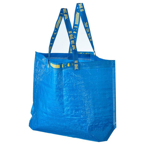 IKEA FRAKTA Carrier bag, medium, blue, 36 l