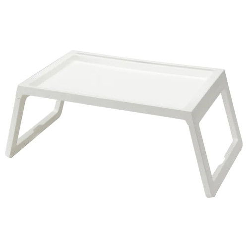 IKEA KLIPSK Bed tray, white