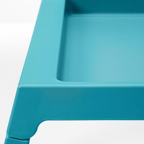 IKEA KLIPSK Bed tray, turquoise