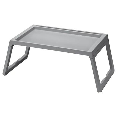 IKEA KLIPSK Bed tray, grey