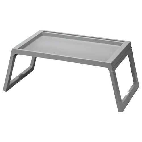 IKEA KLIPSK Bed tray, grey