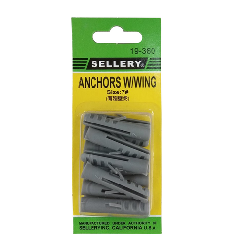Sellery 19-360 anchors with wings #7 (13pcs/set)