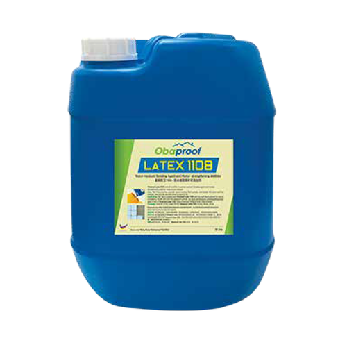 Obaproof latex 1108 water resistant bonding agent and mortar-strengthening additive 18l