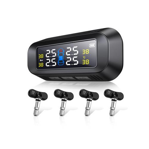 Wireless Solar Tire Pressure Monitoring System