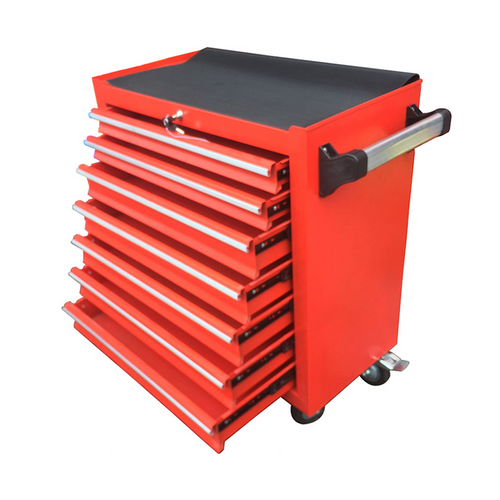 7 Layer Red Trolley Toolbox