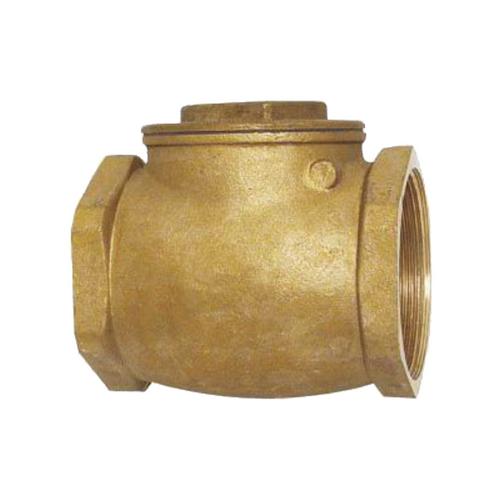"""Showy 1"""" brass swing check valve #5243"""