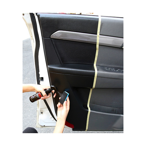 Polish Rubber Car Interior With Sponge 2X150ml
