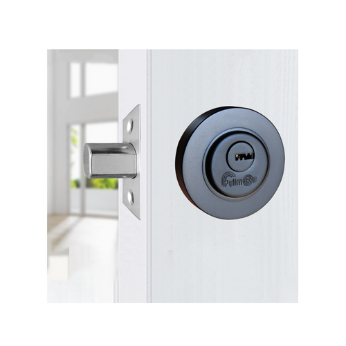 Deadbolt Lock 35-60mm Black