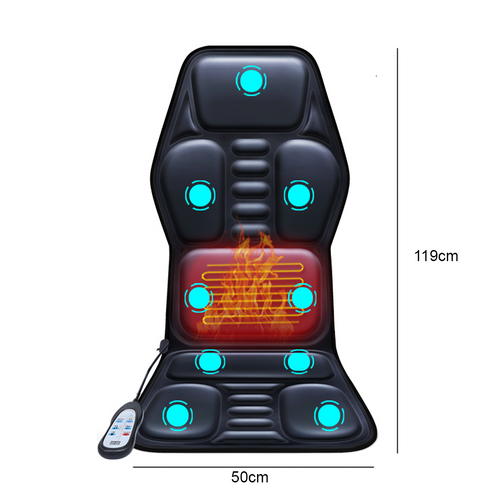 Car Massage PU Cushion With Heat