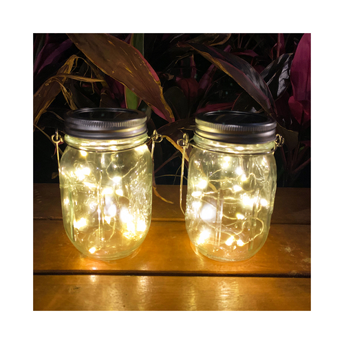 Solar Manson Jar Light