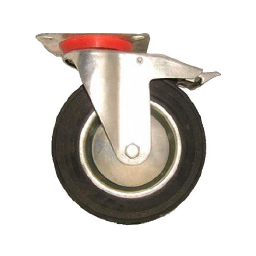 "Hans swivel caster wheel BS4B 4"" w/brake"