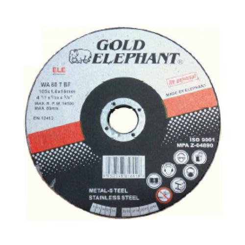 "Gold elephant cutting disc 4"" x 1.0mm x 16mm"