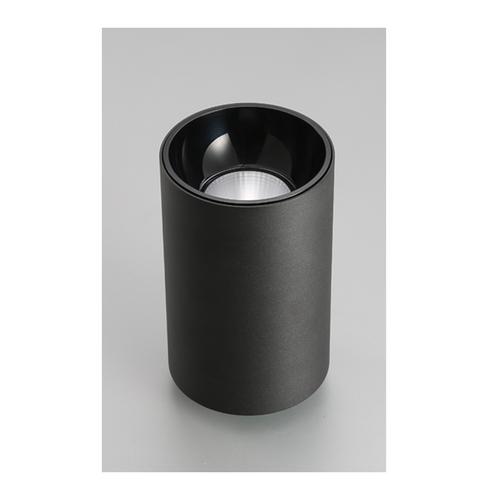 20w LED cylinder downlight 16cm black