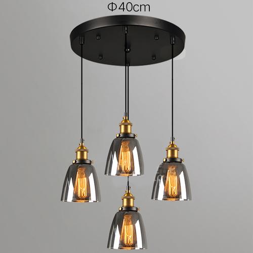 4-lights round pendant light 20cm