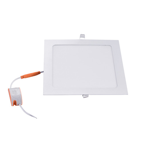 "12w square conceal LED panel downlight 6"" warm white"