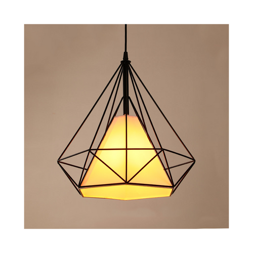 Diamond cluster pendant light 25cm