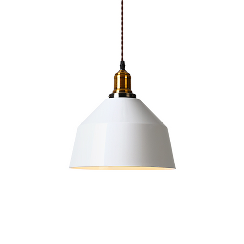 Pendant light white 26cm #B