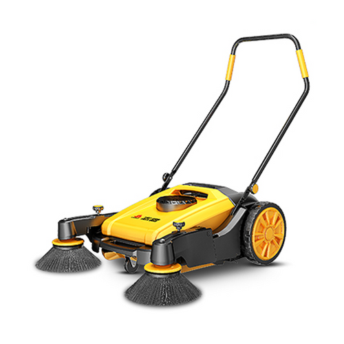 Chigo manual sweeper 55l yellow