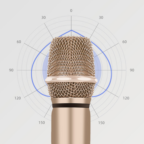 KKH Love Shape Mic Anti High-Pitched Sound