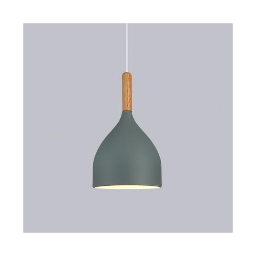 Iron pendant light grey 29cm #d