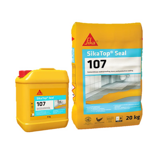 Sika 107 waterproofing top seal 25kg
