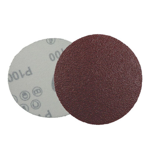 "Velcro maroon pad 4"" #100"