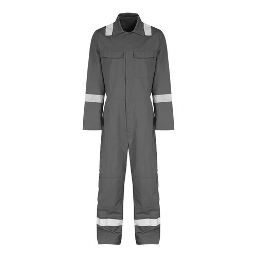 Reflective coverall size: XL(Grey)