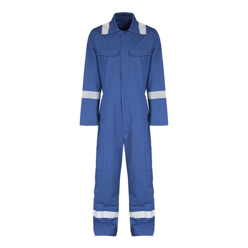 Reflective coverall size:xl (l.blue)