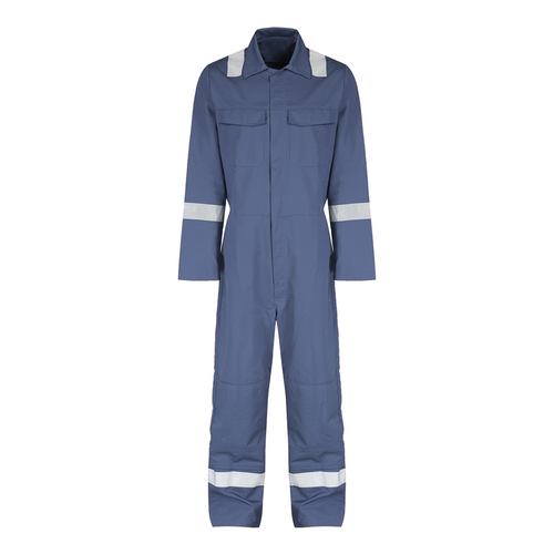 Reflective coverall size:xxl (d.blue)