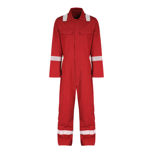 Reflective coverall size:m (red)