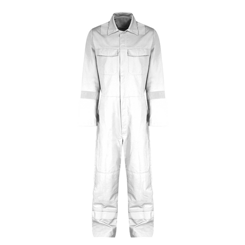 Reflective coverall size:xl (white)
