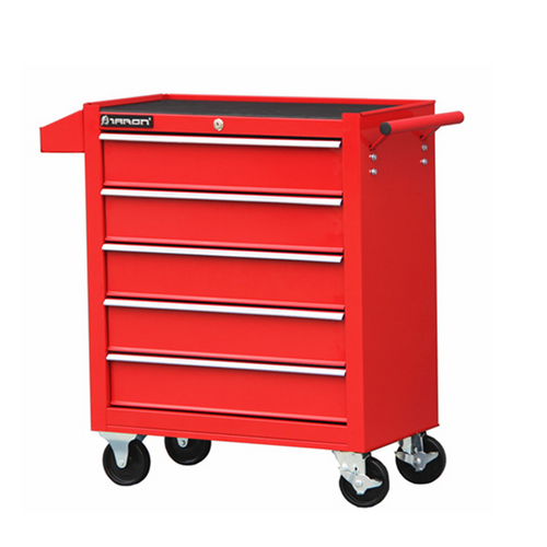5 Layer Red Trolley Toolbox