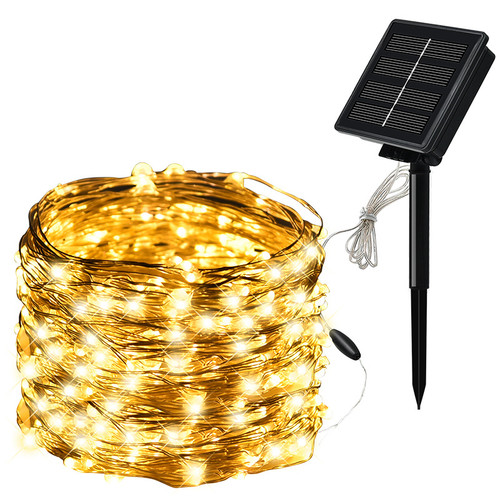 Solar copper starry staring light 10m