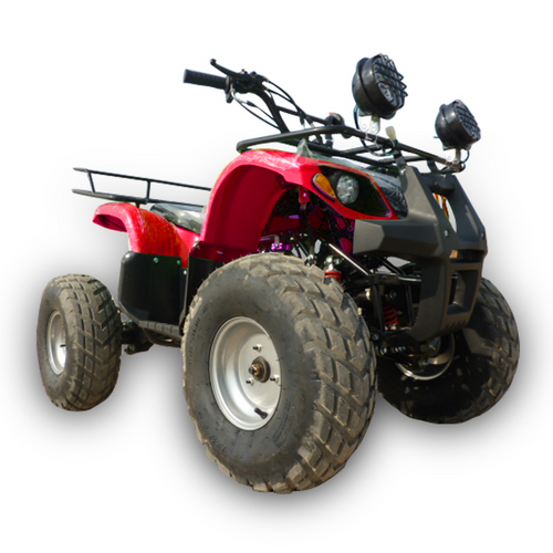 ATV red 125cc