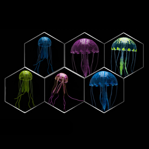 Artificial Jellyfish Blue