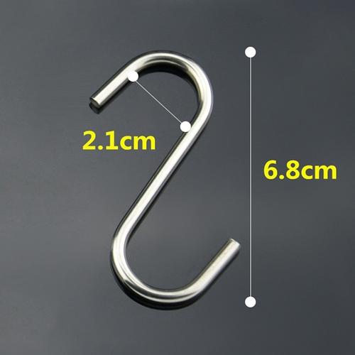 S/S S Hook 68mm
