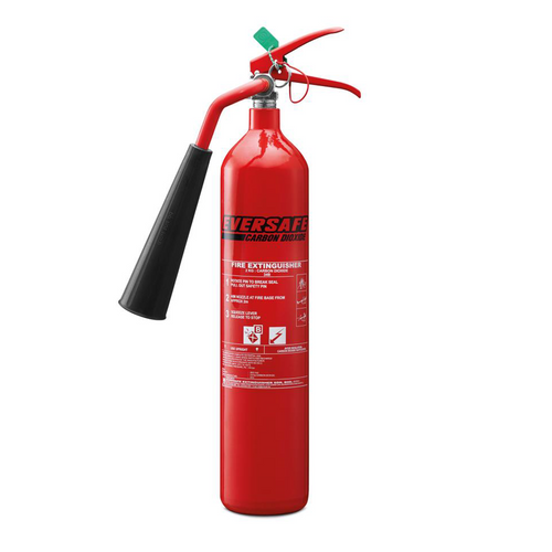 CO2 fire extinguisher 2kg (EEC-2e2)