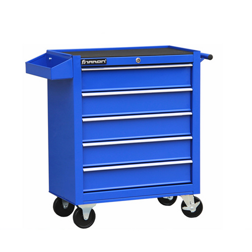 5 Layer Blue Trolley Toolbox