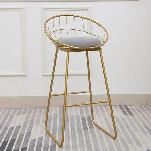 Nordic High Chair 75Cm Grey