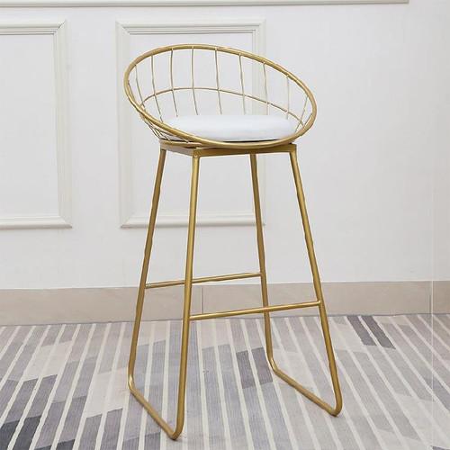 Nordic High Chair 75Cm White