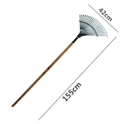Garden Rake #22 With Wooden Stick 1.2M