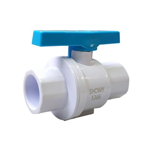 "Showy UPVC ball valve(socket end) 3/4"" #5366"