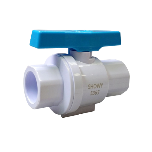 "Showy UPVC ball valve(socket end) 1/2"" #5365"