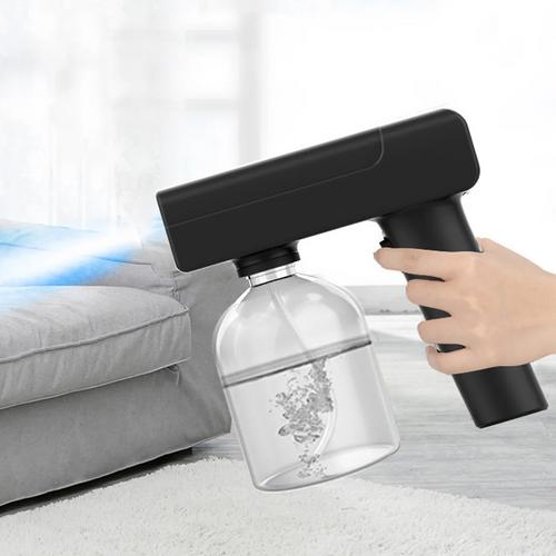 Electrical UV light disinfect spray gun black