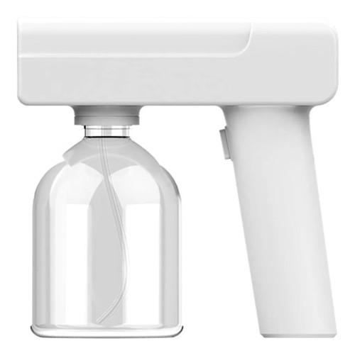 Electrical UV light disinfect spray gun white