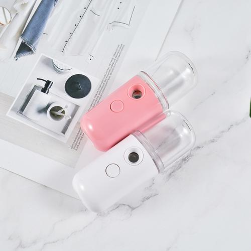 USB handy nano mist sprayer pink